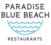 Paradise Blue Beach Logo