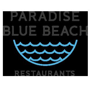 Paradise Blue Beach Logo